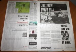 greenpeace telegraph