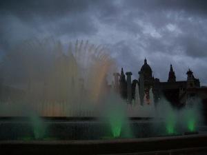 Magic Fountain, Montjuic Park