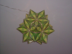 Green Rhombicosacron