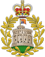 Modern badge of the House of Windsor.