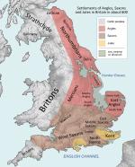 Peoples of Britain circa 600