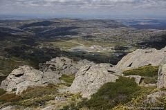 View to Perisher village from mt. Perisher (2054m)