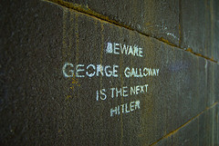 BEWARE GEORGE GALLOWAY IS THE NEXT HITLER