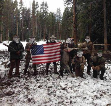 masked wolf hunters