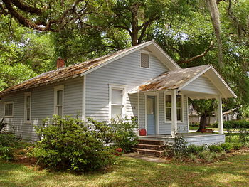 The house in Orlando, Florida where Kerouac li...