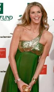 Elle Macpherson at the Women's World Awards 2009 in Vienna, Austria