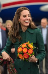 The Duchess of Cambridge arrives at Whitehorse Airport in Whitehorse, Canada, during the fourth day of the Royal Tour to Canada. PRESS ASSOCIATION Photo. Picture date: Tuesday September 27, 2016. See PA story ROYAL Canada. Photo credit should read: Dominic Lipinski/PA Wire