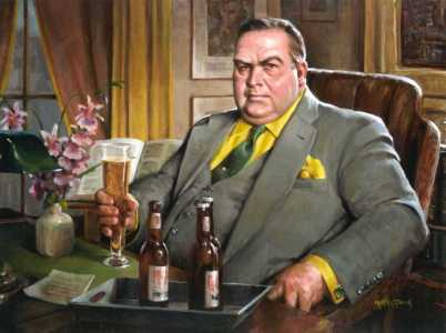 Image result for nero wolfe  images